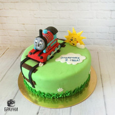 №318 Торт паровозик Томас