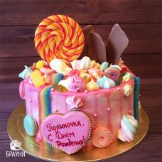 №354 Торт со сладостями