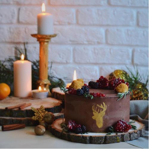 №142 Торт новогодний