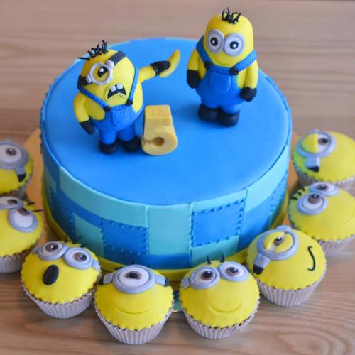 №159 Торт Миньоны