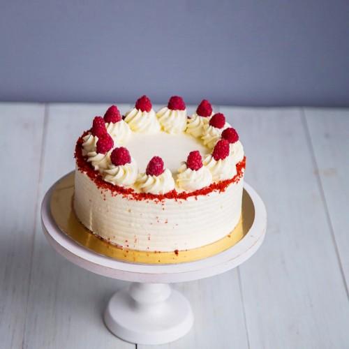 №198 Торт с малиной