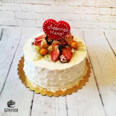 №319 Торт с ягодами