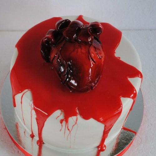 №465 Торт сердце