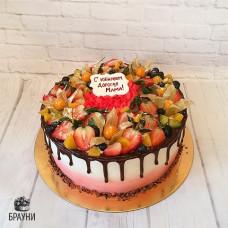 №324 Торт с ягодами