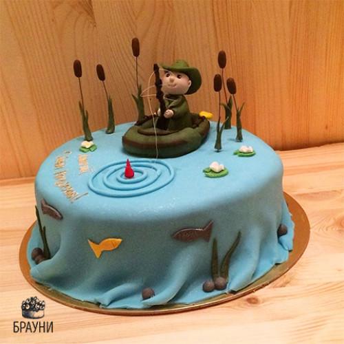 №313 Торт рыбаку