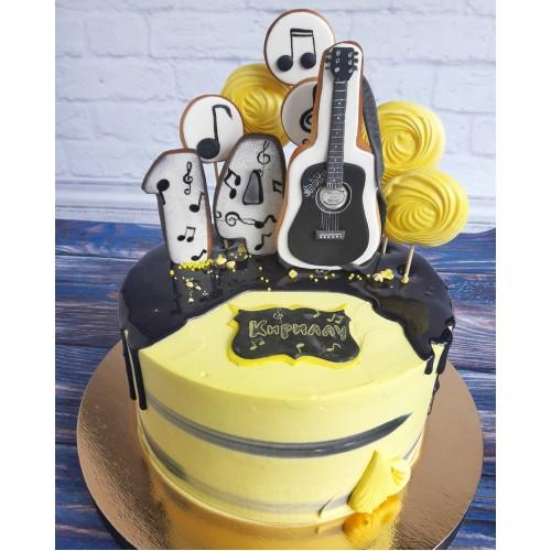 №479 Торт для музыканта
