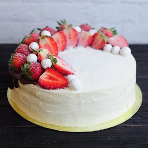 №49 Торт клубничный