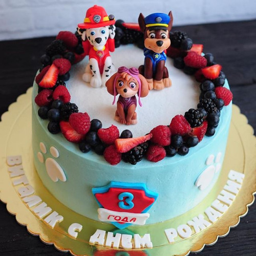 №54 Торт Щенячий патруль