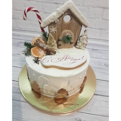 №484 Сказочный торт Новый Год