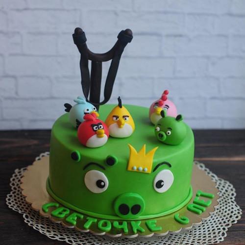 №79 Торт Angry birds