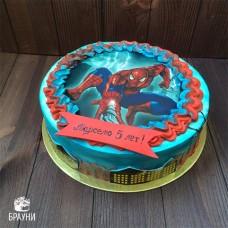 №365 Торт Человек Паук