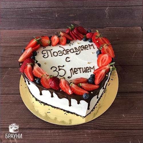 №385 Торт сердце