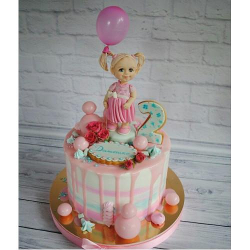 №451 Торт дочке с куклой